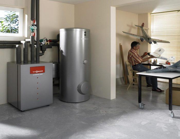 организация газового отопления