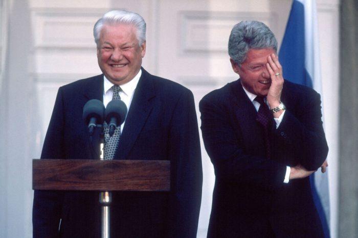 правление Ельцина в России