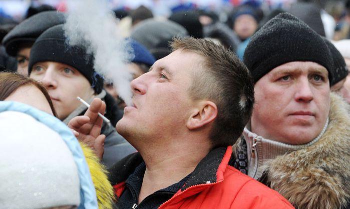 запрет курения в общественном месте