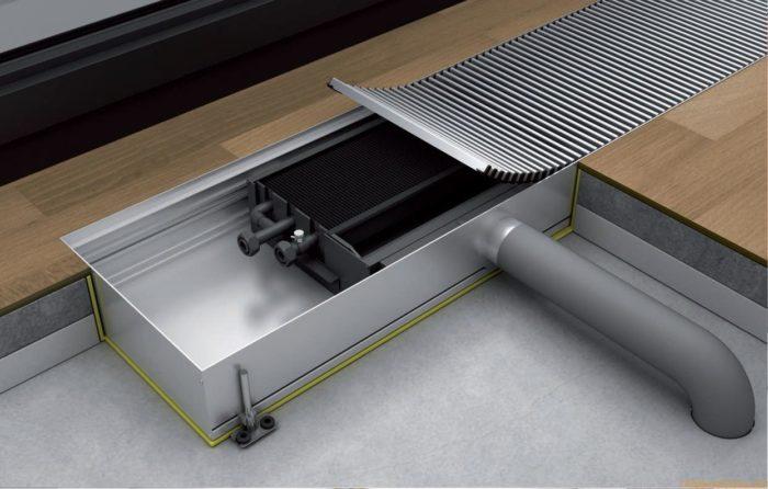 виды систем конвекторного отопления
