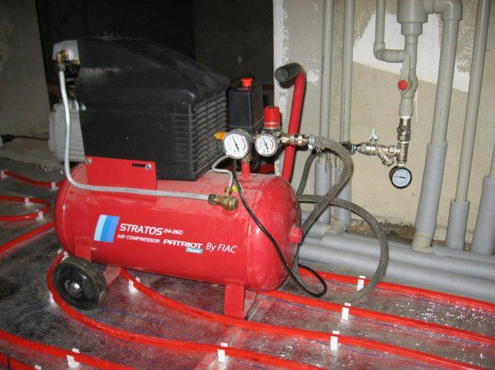 опрессовка и промывка системы отопления