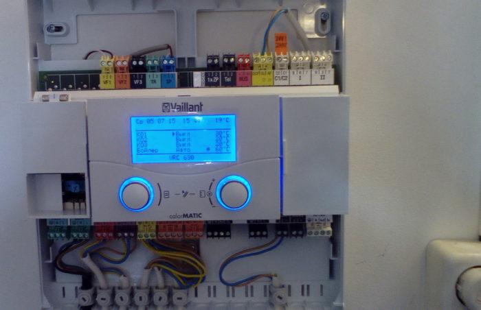 контроль температуры нагрева