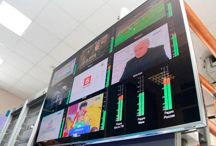 График перехода на цифровое телевидение в России