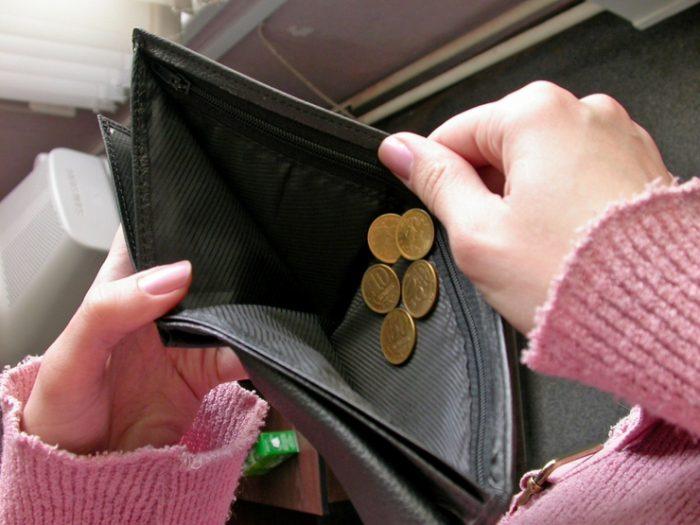 что нельзя делать, когда нет денег