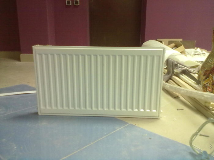 панельные радиаторы отопления