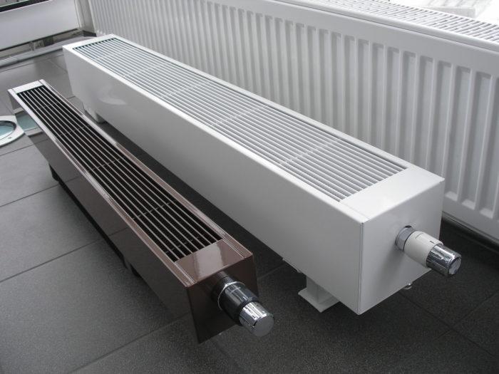 напольные радиаторы отопления