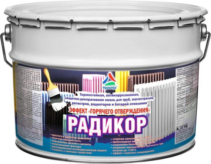 краска для радиаторов