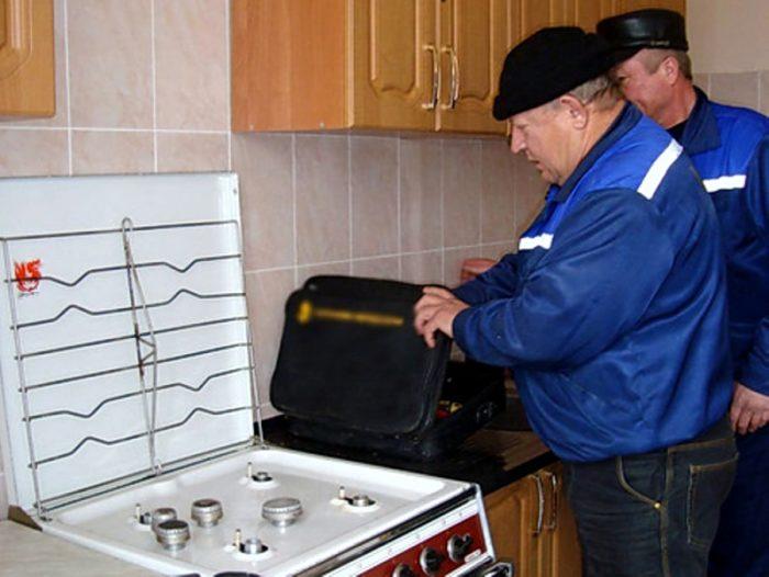 проверка газовых плит в квартирах