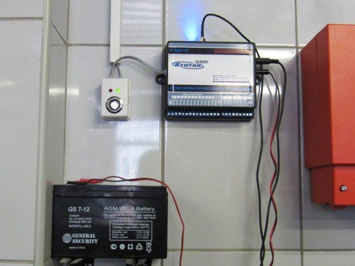 установка газоанализатора в квартире