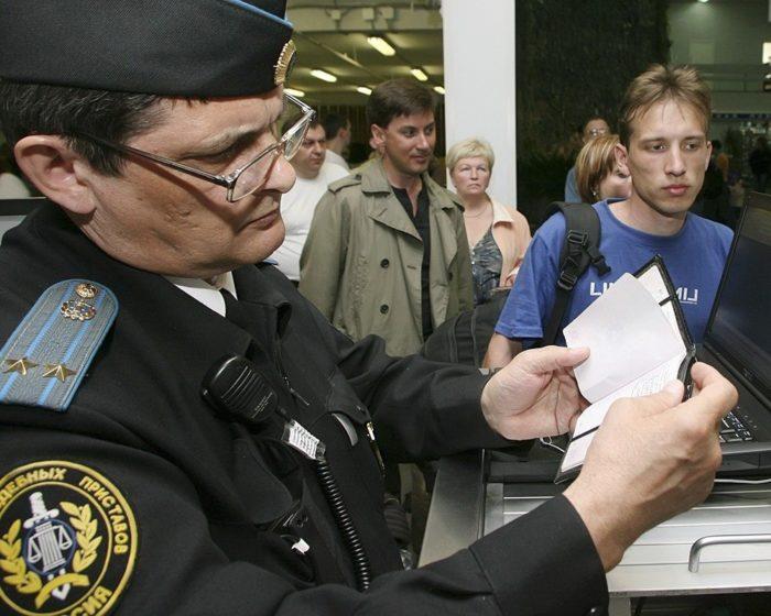 налог на выезд за границу