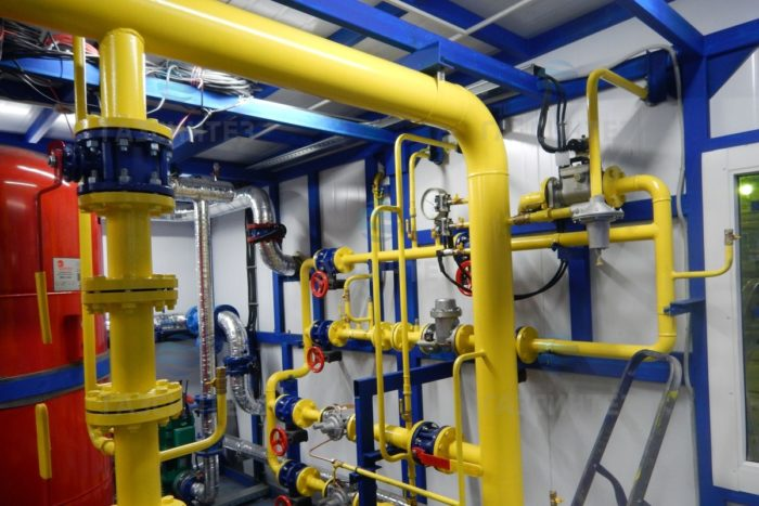 основные узлы газовой котельной