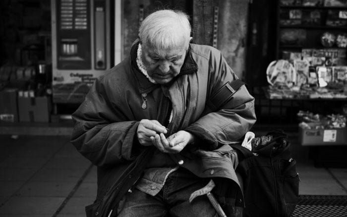 бедные пенсионеры