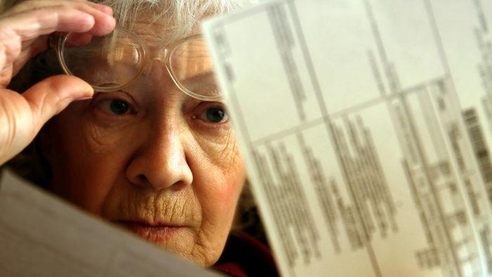 пенсионеры и ЖКХ