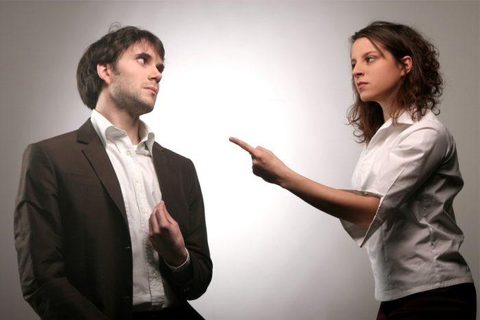 женщина не уважает мужчину