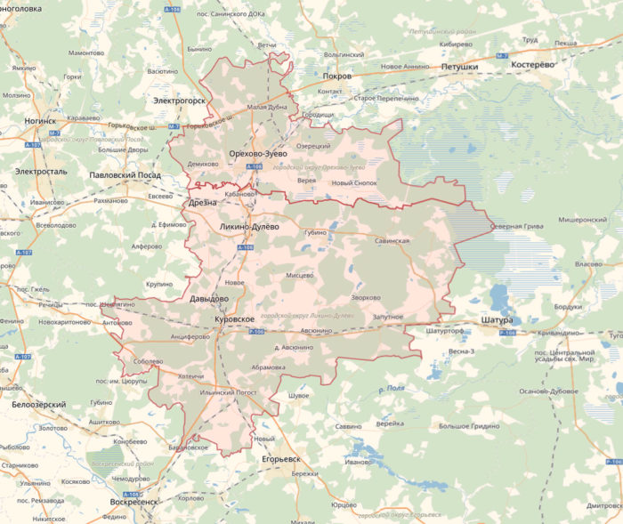 Орехово-Зуевский район
