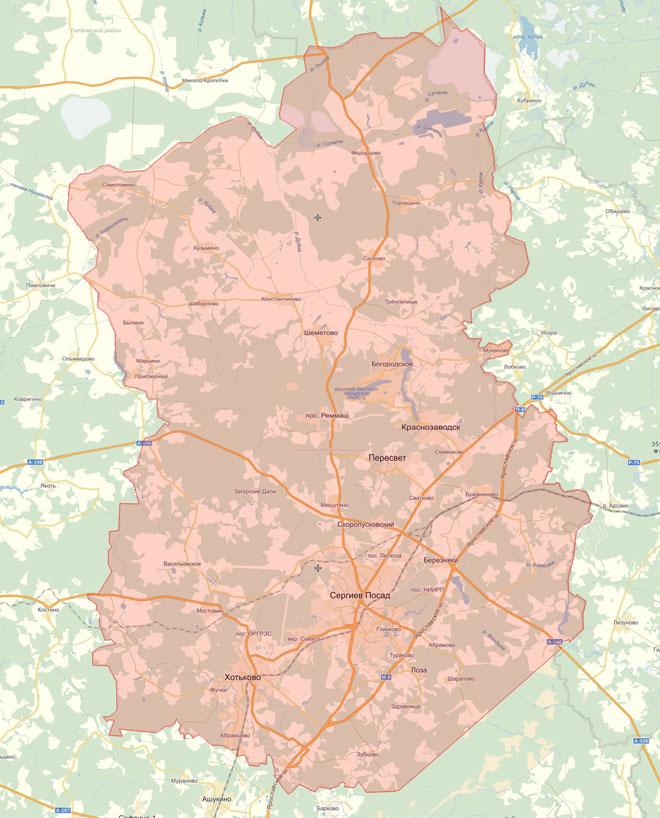 Сергиево-Посадский район