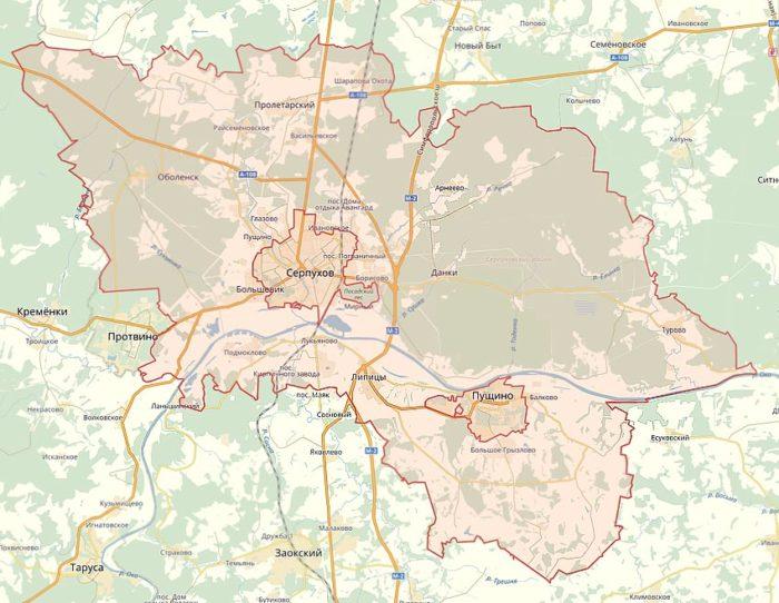 Серпуховской район