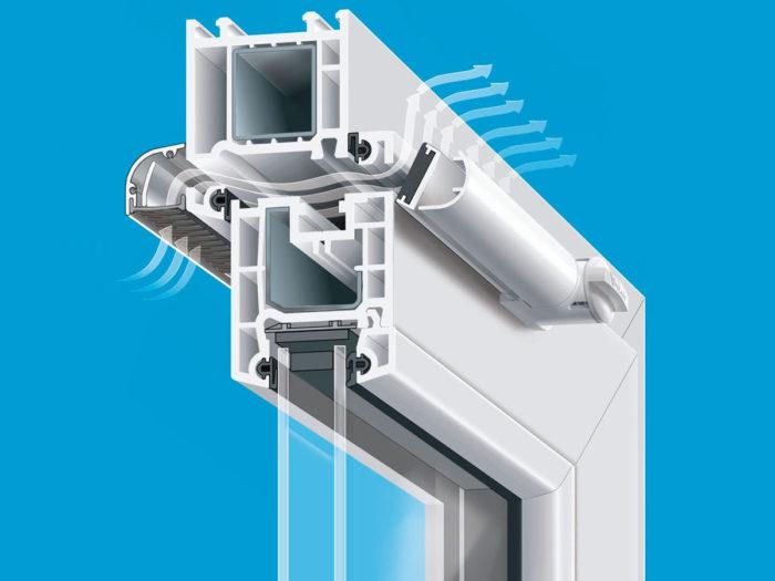 клапан для пластиковых окон
