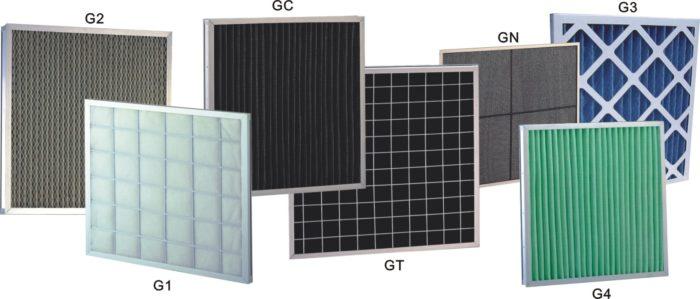классы фильтров для вентиляции