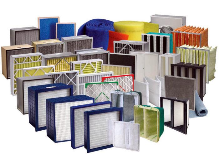материалы фильтров для вентиляции