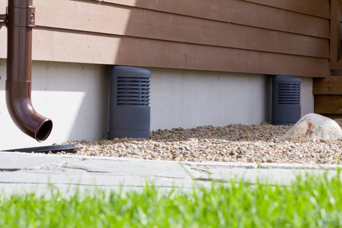 вентиляция подпола в частном доме