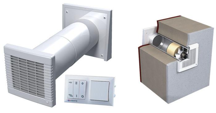 оборудование для организации вентиляции