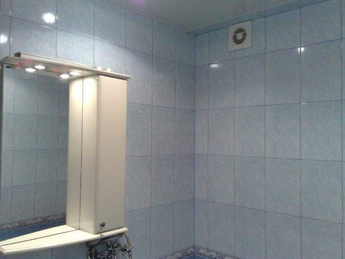 система воздухообмена для ванной