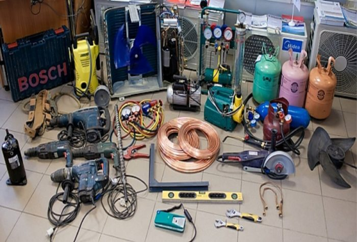 инструменты для установки кондиционера