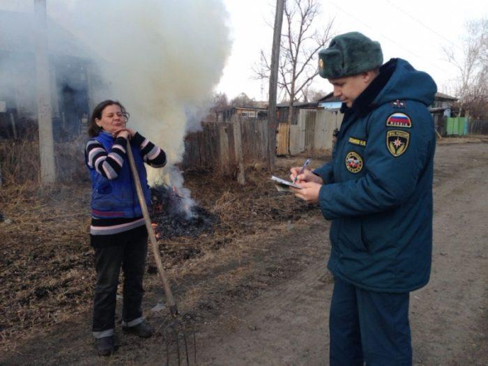 штрафы за сжигание мусора