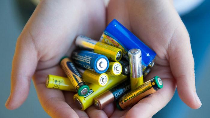 севшие батарейки