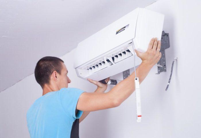 установка кондиционера в квартире