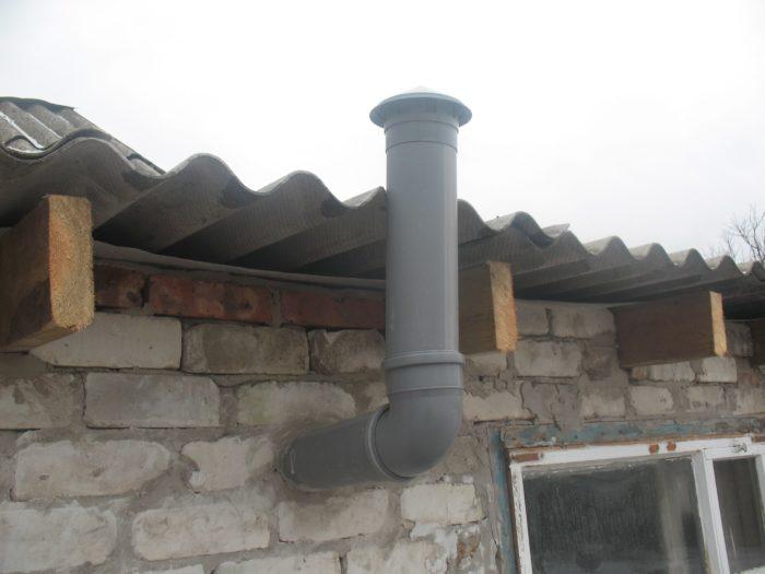 пластиковые трубы для вентиляции