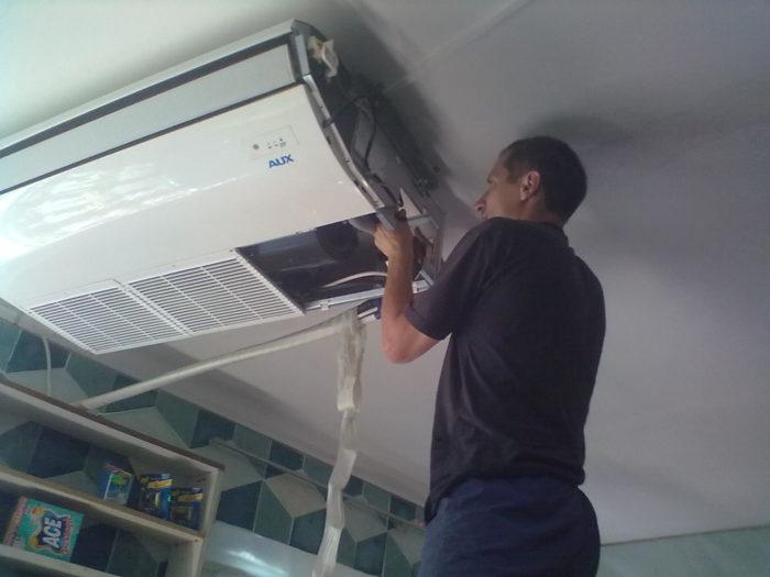 ремонт климатической техники