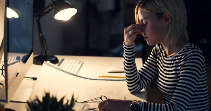 как освещение влияет на усталость