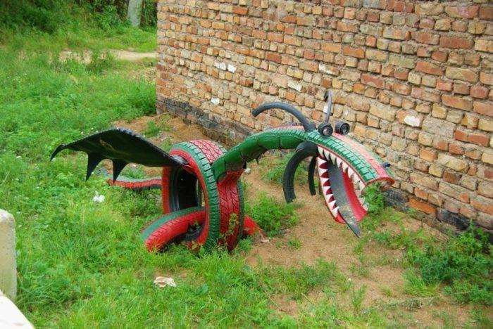 Змеи на даче