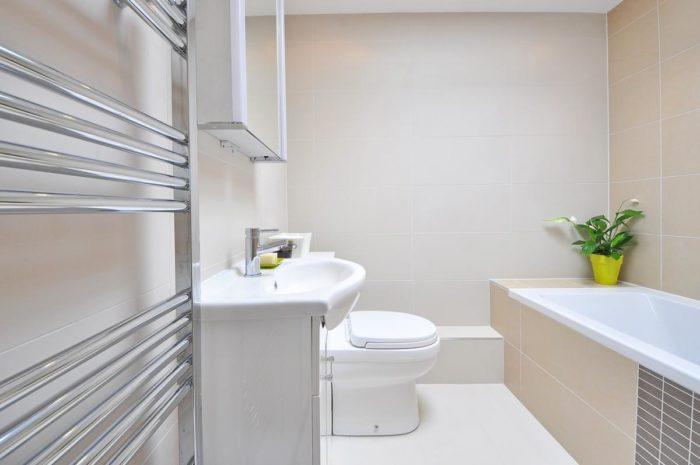 чистая ванная комната