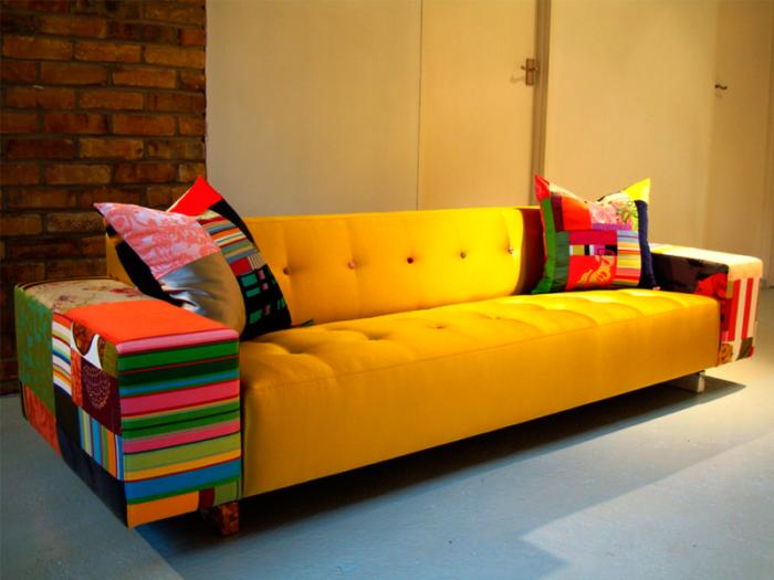 цветная мебель