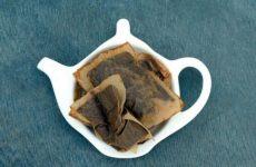повторное применение чайных пакетиков
