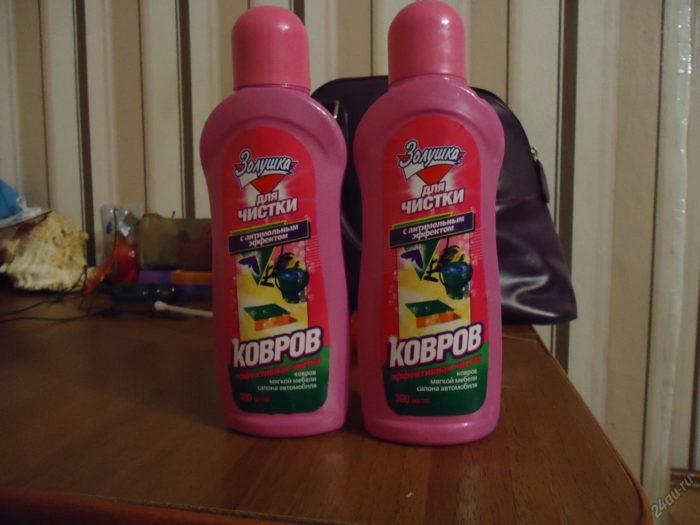 шампунь для чистки ковров
