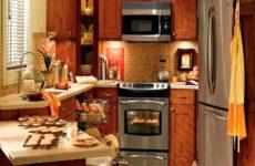 Как сделать маленькую кухню просторней