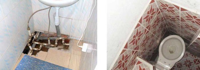 Грубые ошибки при ремонте ванной