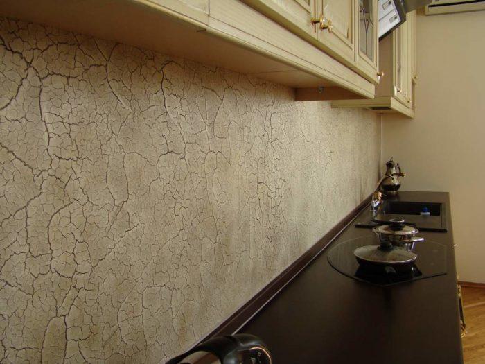 Вариант декоративной отделки кухонного фартука