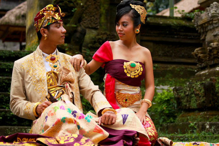 национальная свадьба на Бали