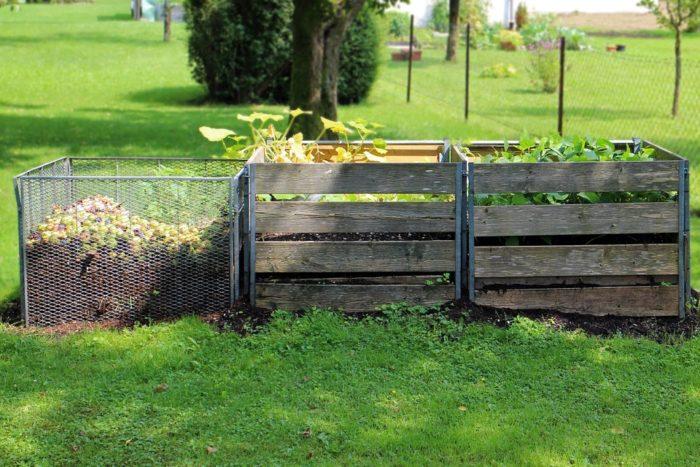 компостная яма на даче