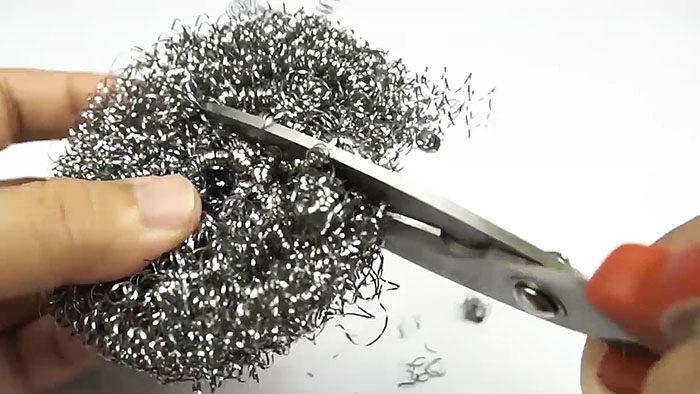 металлический ежик для заточки ножей