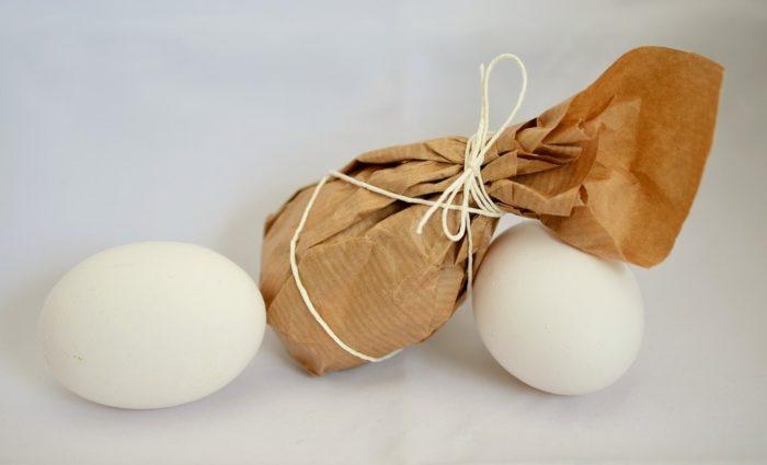 хранение яиц в бумаге