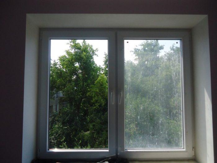 грязные окна в квартире