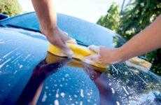 Штрафы за мытье автомобиля