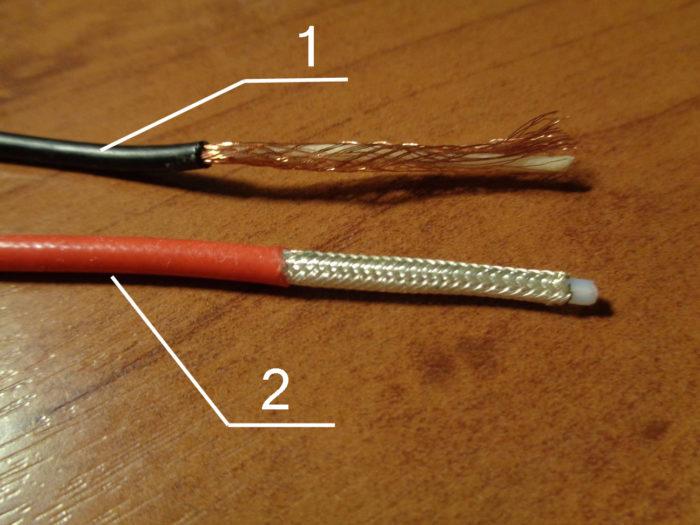 Коаксиальный кабель для антенны