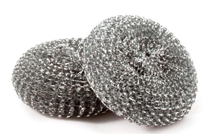 Металлические губки для мытья посуды